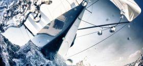 Ulf Sommerwerck hat beim Rennsegelbild des Jahres 2012 einen Schuss von Polgar/Koy auf ihrem Starboot am Start. © Ulf Sommerwerck