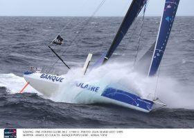 """""""Banque Populaire"""" entfernt sich nach Osten und lässt eine große Lücke zur direkten Konkurrenz zu. © JEAN-MARIE LIOT / DPPI"""