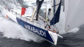 """Dominique Wavre liegt mit seiner """"Mirabaud"""" bei der Vendée Globe auf Platz acht. © Th.Martinez/Mirabaud"""