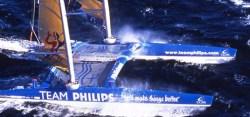 Das blaue Monster der Meere – Team Philips mit Parallel-Rigg © Angusnoble