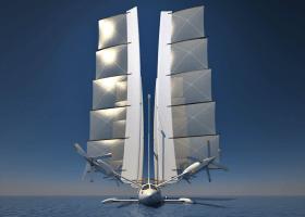 Yelken Octuri entwirft Visionen von fliegenden Segelyachten für die Zukunft
