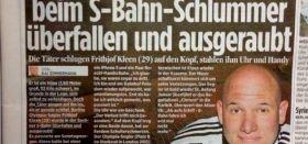 Frithjof Kleen in der Bildzeitung