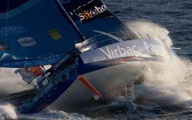 Jean-Pierre Dick hat den 24 Stunden Einhand-Weltrekord für Monohulls gebrochen. © JM Liot/ DPPI/ Virbac-Paprec Sailing Team