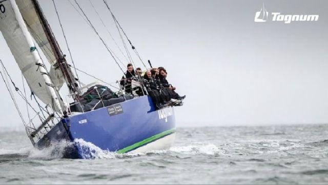 """Rainer Holtorff skippert die JV53 Mitarbeiter-Yacht """"Togunum"""""""