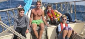 Bruder Leichtfuß, Barfußroute, per Anhalter, segeln