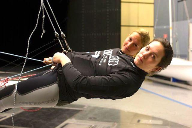 Das zurzeit beste deutsche Frauen Duo im 49er FX
