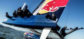 Das STG-NRV segelt erstmals mit dem AC45