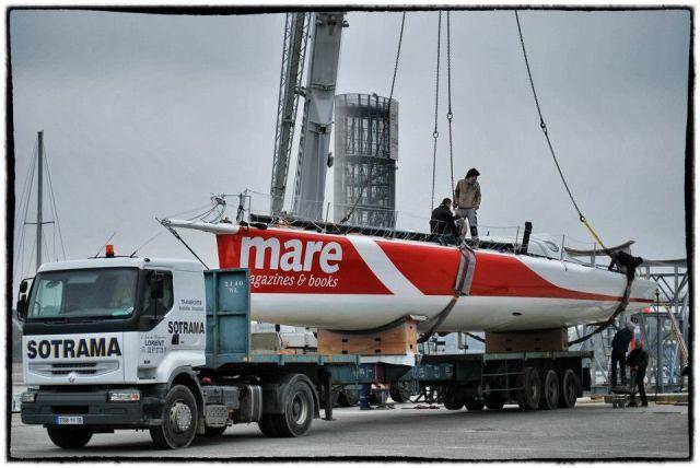 """Die neue """"Mare"""" (ex """"Maitre Coque"""")"""