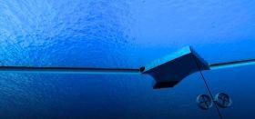 Plastikmüll-Sammler im Meer