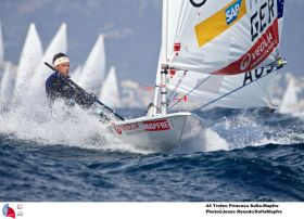 Philipp Buhl segelte die stärkste Qualifikation