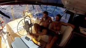Sailing conductors, Atlantiküberquerung, Kapstadt-Rio