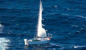 Das Geisterschiff vor Toulon.