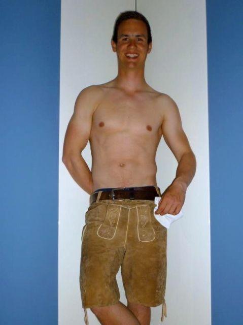 Der Segelmacher Michael Seifarth (20) aus Unterwössen am Chiemsee