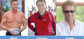 Stefan Böhm (l.), Claas Lehmann und Wolfgang Hunger.
