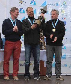 Grand Master Podium: Thomas Schmidt (2.), André Budzien (1.), Michael Staal (DEN 3.).