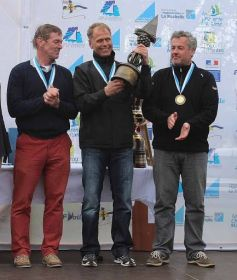 Grand Master Podium: Thomas Schmidt (2.), André Budzien (1.), Michael Staal (DEN 3.).