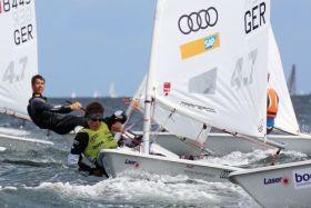 Laser 4.7 Kieler-Woche-Sieger Eric Toralf Malach