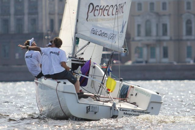 Match Race in St. Petersburg.