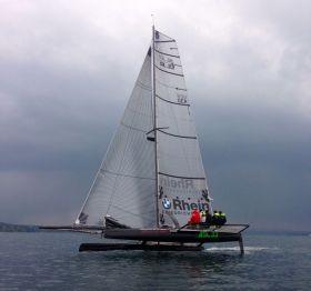 """Die SL33 """"Black Jack"""" von Ralph Schatz gewinnt die RUND UM"""