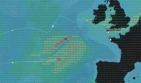 Francis Joyons Atlantik-Rekordversuch