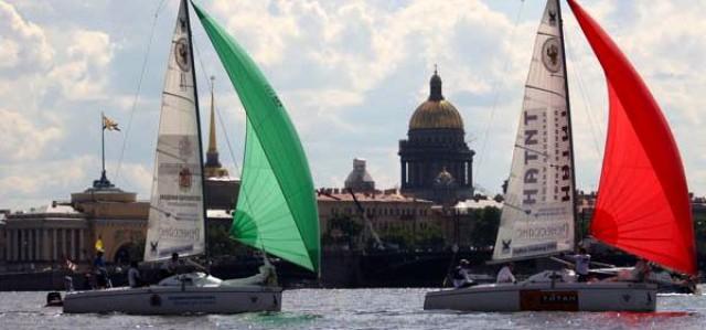 Match Race Europameisterschaft in St. Petersburg