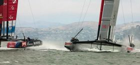 Team New Zealand Luna Rossa