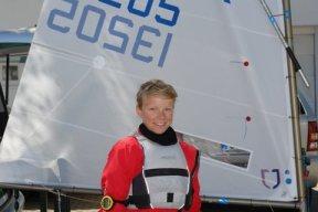 So sah Nils aus, als er noch nicht Weltmeister war .... © Far East Boote