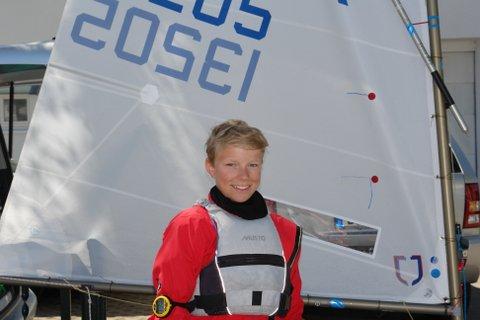 Nils Sternbeck vom Starnberger See ist 2013 schon mit 13 Jahren nach seinem WM-Höhepunkt in den 420er umgestiegen.