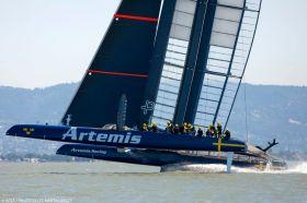 Artemis auf dem Sprung. © ACEA/Gilles Martin Raget