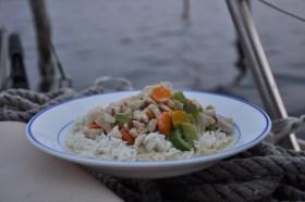 Unser leckeres Abendessen - Thai-Curry © MC