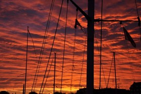 Sonnenuntergang in Nyborg © MC