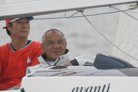 Felix Magath segelt