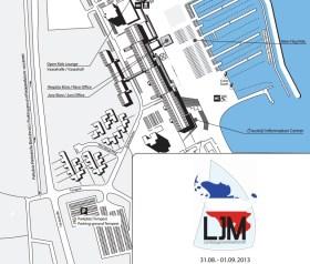 Austragungsort mit olympischem Flair: Kiel-Schilksee © KYC