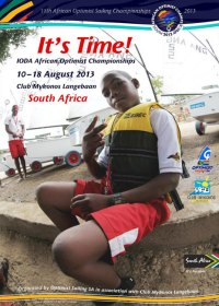 It´s time: das Plakat der Afrikanischen Meisterschaft 2013