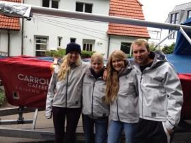 Das Carroux SB20 Sailing Team: Maike und Svenja Christiansen, © Katie Jackson / SB20 Class