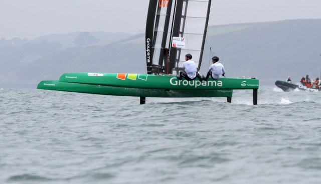 Little america's Cup, Groupama