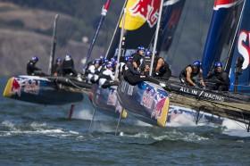 Es ist noch vieles drin für ALL IN / Racing: Noch vier Wettfahrten wovon die letzte doppelt in die Wertung eingeht © Jens Hoyer / All In Racing