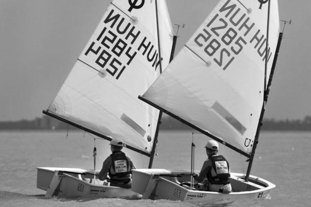 Abel und Levante, das Schock-Duo in ungarischen Regattafeldern © Turcsi
