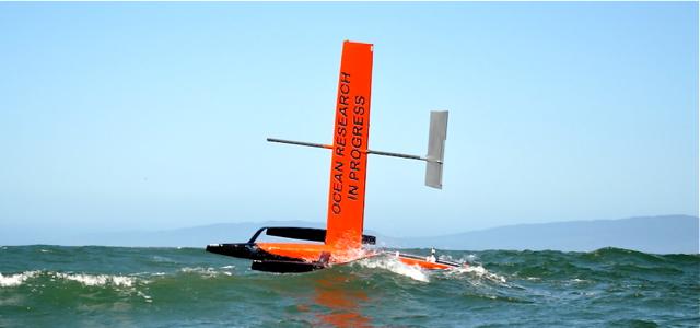Unbemanntes Segeln, Segelroboter
