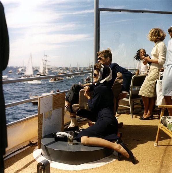 J.F. Kennedy, Segeln