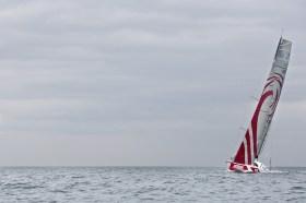 """""""mare"""" hoch am Wind und weit und breit nichts von der Konkurrenz zu sehen. Der Tracker wird täglich Aufschluss geben © Breschi"""