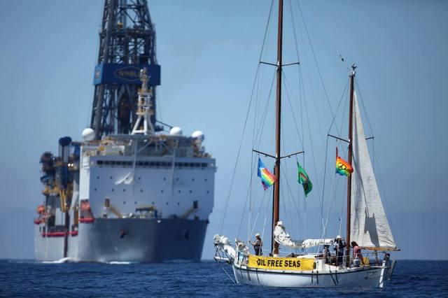 Umweltschutz, Greenpeace, Ölbohrung