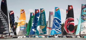 The Extreme Sailing Series Singapurs