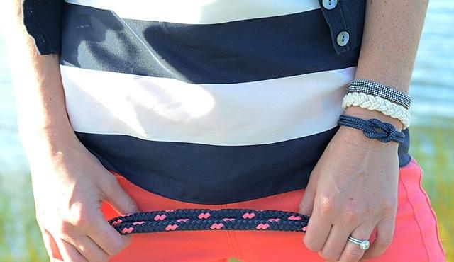 Die Yacht am Arm - maritime Armbänder von Lemon & Line im Angebot von 3Sails