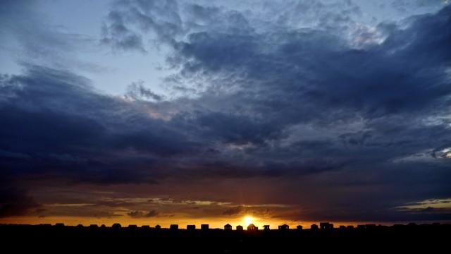 So einen Sonnenuntergang bekommt man nur manuell perfekt inszeniert. (c) diggerhamburg