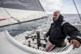 Jörg Riechers, Deutschlands Offshore-Könner, will bei den IMOCA kräftig mitmischen © OM