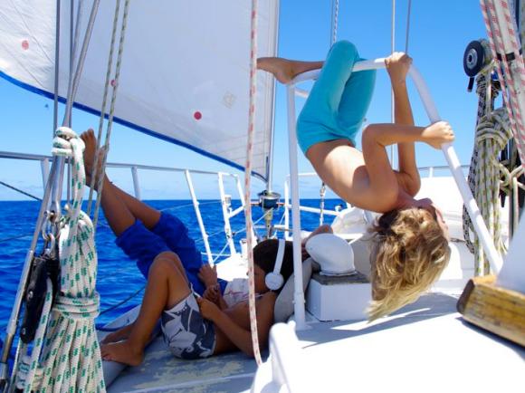 Kinder an Bord – nur cool © eitzinger