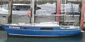 """Die 7,50 Meter lange """"Munetra"""" im Hafen von """"Bluff"""" © NZ coast guard"""