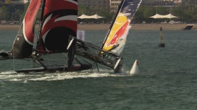 Alinghi Red Bull Crash