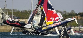 Red Bull Alinghi Crash